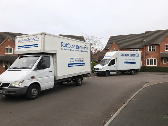 Robbins Removals removal services in Swindon