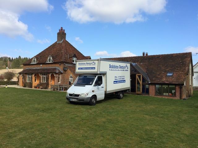 Robbins Removal Van