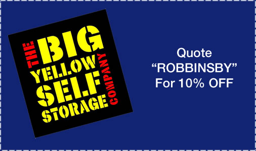 Self storage Swindon with Robbins Removals